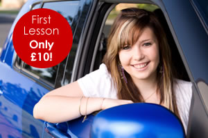 First Driving Lesson £10